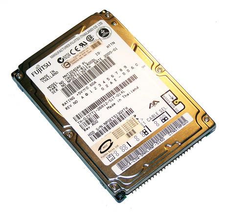 """Dell J3771 Fujitsu MHT2040AH PL 40GB 5.4K 2.5"""" ATA/IDE HDD f/w 02AE-006C A=1 CA0"""